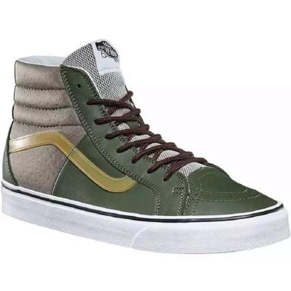 duża zniżka 100% autentyczności super promocje Vans sk8-hi 46 neoprene green sneaker shoes 13 men NWT